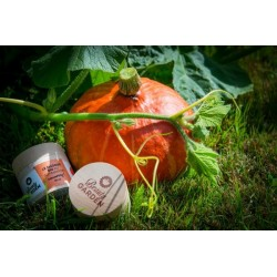 Organic cocooning mask with pumpkin
