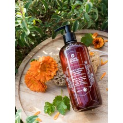 Crème douche shampoing cassis calendula