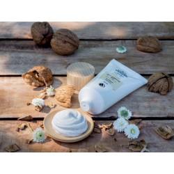 walnut shell scrub