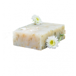 Chamomile soap - biodegradable packaging