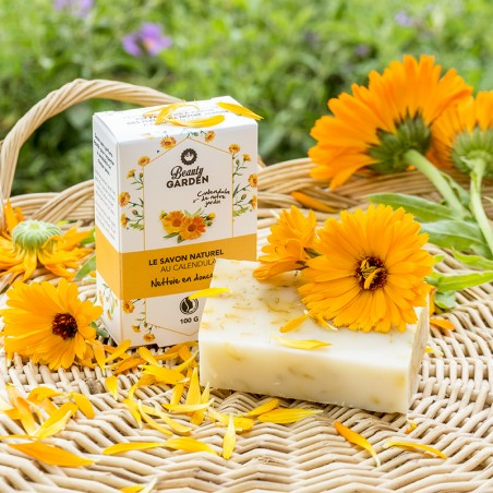 Calendula soap made in France