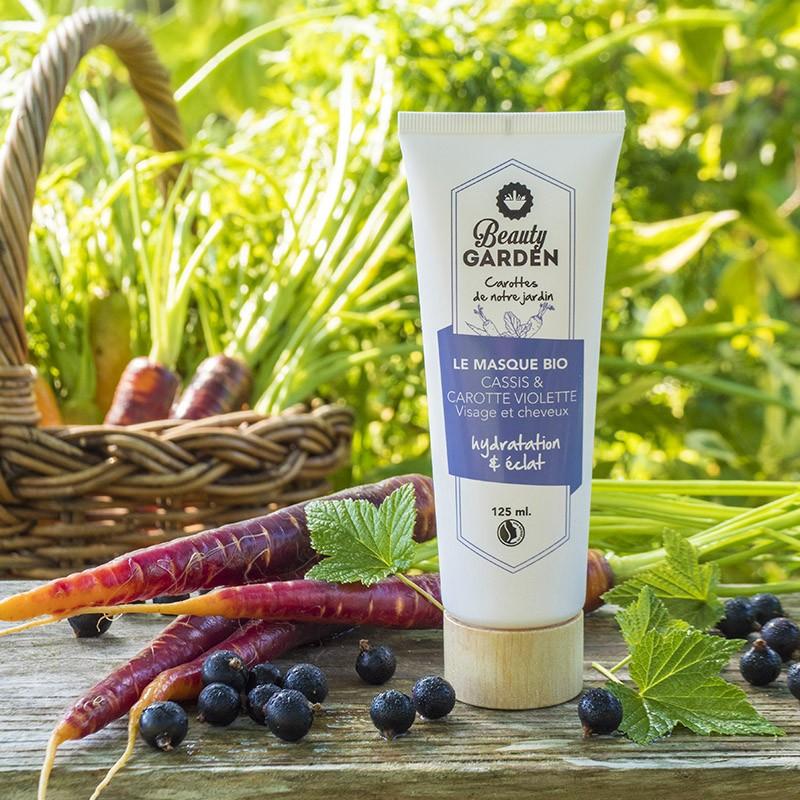Organic blackcurrant mask