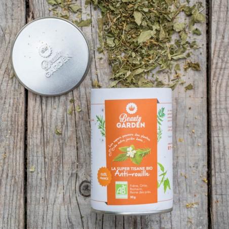 herbal tea to lighten the complexion